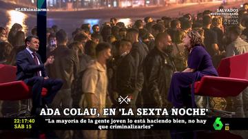 Ada Colau en laSexta Noche