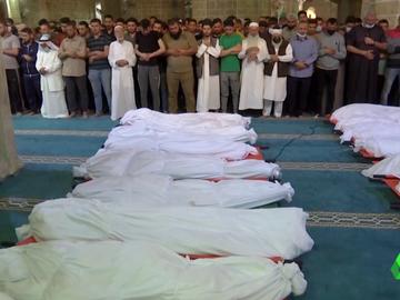 Muertos en Gaza