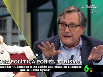 """Duro enfrentamiento entre Marhuenda y Elisa Beni a cuenta del Gobierno: """"¿Te molesta porque eres de izquierdas? Lo siento"""""""