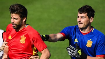 Gerard Piqué e Iker Casillas