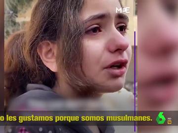 El desgarrador testimonio de una niña de diez años que evidencia el sufrimiento del pueblo palestino
