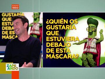 Las pistas de Arturo Valls sobre qué famosos se esconden tras las máscaras de Mask Singer: