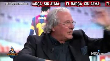 El demoledor análisis de D'Alessandro sobre el Barça que dejó sin palabras a todo El Chiringuito