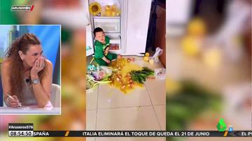 El vídeo que advierte del peligro de dejar a un niño pequeño solo en la cocina