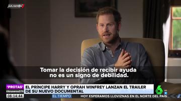¿Volverá a temblar la Casa Real británica? El príncipe Harry y Oprah Winfrey preparan un nuevo documental