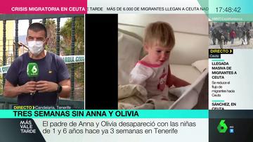 Los perros marcan tres puntos de la casa del padre de las niñas desaparecidas en Tenerife