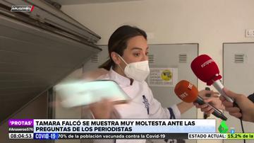 Tamara Falco estalla contra los periodistas que le preguntan por la supuesta crisis con Íñigo Onieva