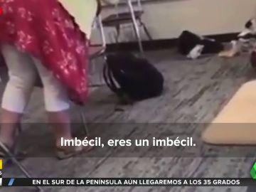 """Una profesora se enfrenta a un alumno por no querer usar mascarilla: """"Eres un imbécil, aquí no eres especial"""""""