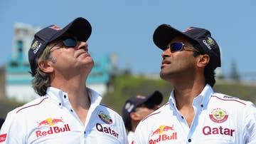Carlos Sainz y Nasser Al-Attiyah