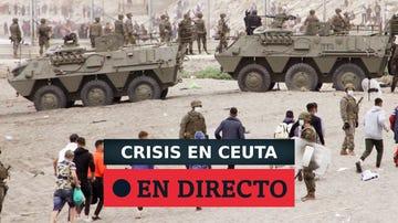 Última hora de la crisis en Ceuta y Melilla por la entrada de inmigrantes