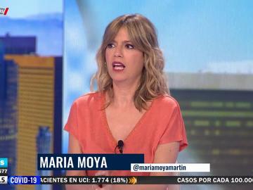 """María Moya se indigna en Aruser@s con los tópicos sobre las rubias: """"Yo no soy tonta"""""""