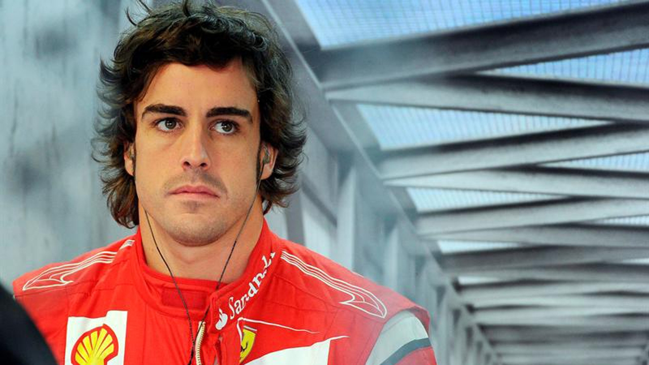 Fernando Alonso, en la casa de Ferrari