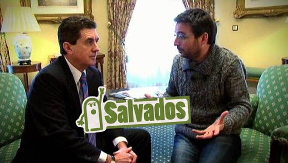 Jordi Évole charla con Jaume Matas