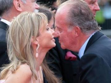 Corinna y Don Juan Carlos