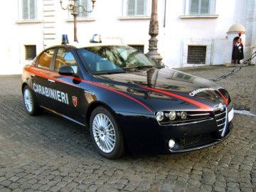 Un coche de los carabinieri
