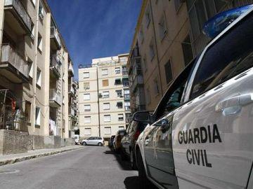 Efectivos de la Guardia Civil en Huelva