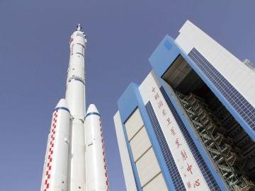 Imagen de archivo de una nave en el Centro de Lanzamiento de Jiuquan