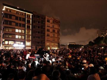 Protestas en la Plaza Taksim