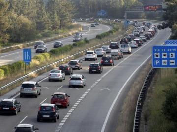 Imagen de archivo de una autopista