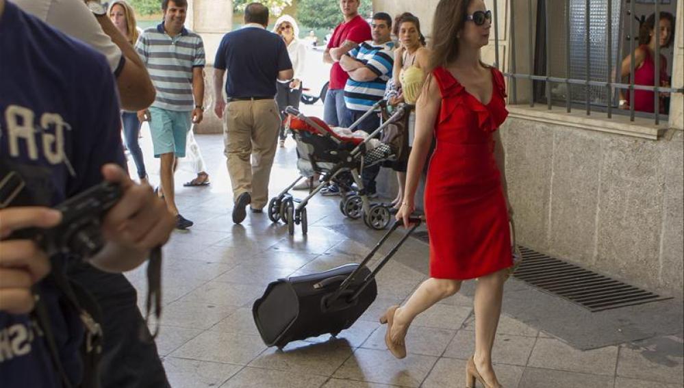 Mercedes Alaya llega a los Juzgados de Sevilla