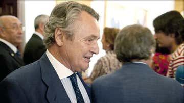 Ignacio López del Hierro en un acto público