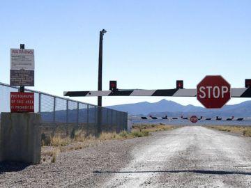 Verja de entrada al Área 51