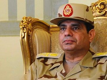 General Abdel Fatah al Sisi, ministro de Defensa y jefe del Ejército egipcio