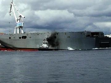 Un buque en Ferrol. Archivo