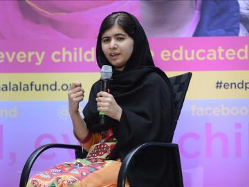 La joven paquistaní Malala Yousafzai