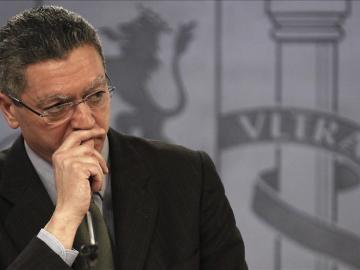 El ministro de Justicia, Alberto Ruiz-Gallardón.