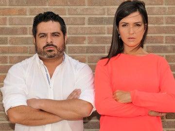 Jalis de la Serna y Alejandra Andrade