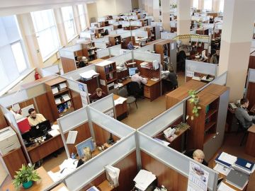 Empleados de una oficina