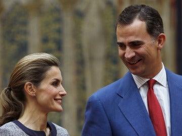 Los reyes, Don Felipe y Doña Letizia