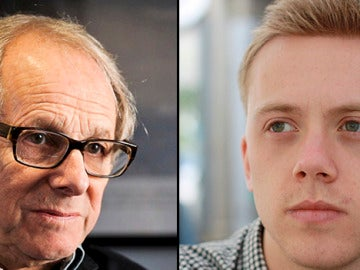 El cineasta Ken Loach y el ensayista Owen Jones