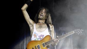 El guitarrista y cantante de Extremoduro, Robe Iniesta.