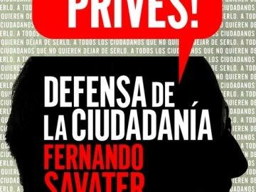 '¡No te prives!', la nueva obra de Fernando Savater