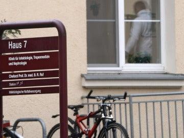 Vista de la clínica St. Georg de Leipzig