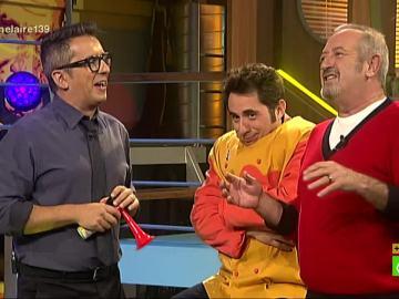 Los chistes de Berto Chicote y Karlos Arguiñano