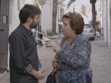 María Luisa Cava de Llanos y Jordi Évole en 'Salvados'