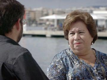 Jordi Évole entrevista a María Luisa Cava de Llano
