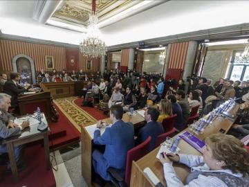 El Ayuntamiento de Burgos aprueba un acuerdo de apoyo a los trabajadores de Campofrío