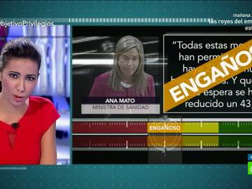 Test de verificación a Ana Mato