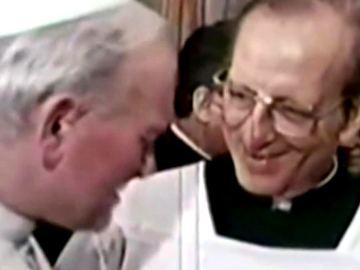 Juan Pablo II con Marcial Maciel