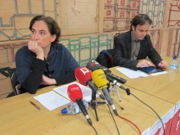 Guanyem Barcelona, en rueda de prensa