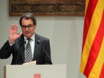 El presidente catalán, Artur Mas.