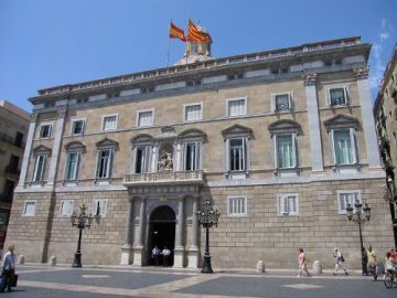 Sede de la Generalitat de Cataluña.