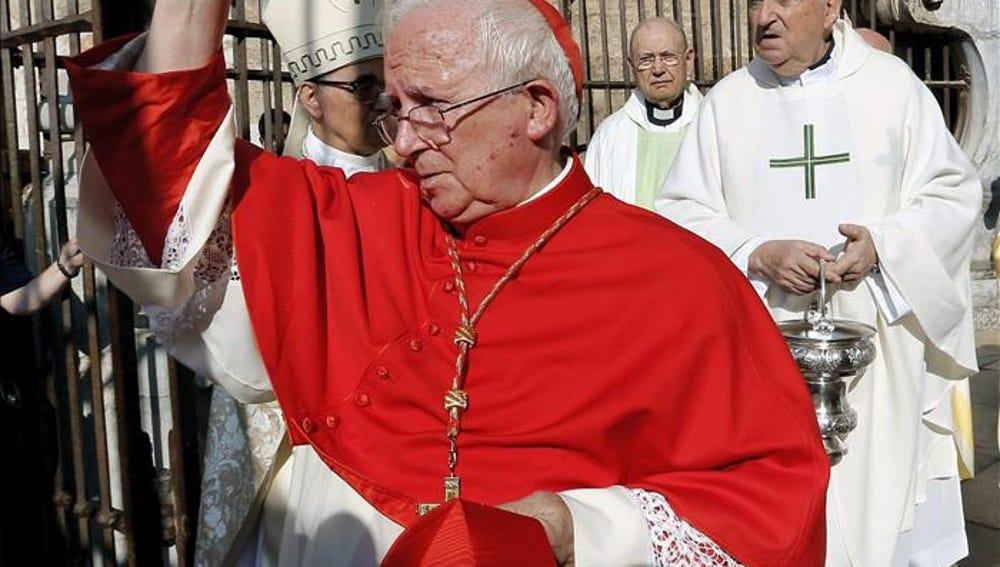 El arzobispo Cañizares en una imagen de archivo