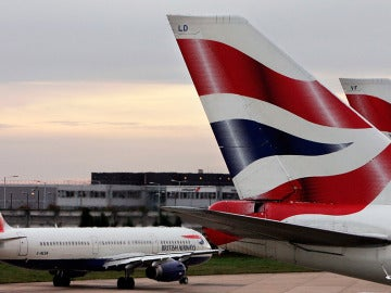 Aviones de British Airways, en el aeropuerto de Heathrow