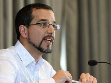 Sergio Pascual, Podemos