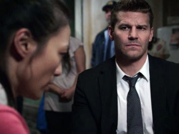 Seely Booth con Tammy, una inmigrante ilegal